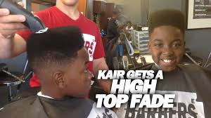 how to classic high top fade kid n play haircut tutorial