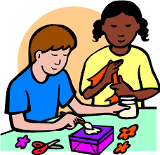 kids arts and crafts clip art clipart bay