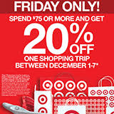 target specials black friday target u0027s 20 off coupon the belle of the black friday ball