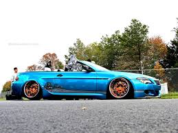 bmw slammed slammed bmw m6 convertible at first class fitment mind over motor