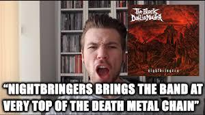 Murder Meme - the metal tris the black dahlia murder nightbringers review