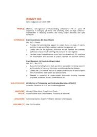 3 Event Coordinator Resume Students Resume by Event Program Coordinator Resume Sample Tem Saneme