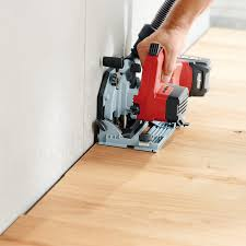 Cutting Laminate Flooring With Circular Saw Mafell Kss 40 18m Bl 18 Volt Cordless Cross Cutting System Saw In