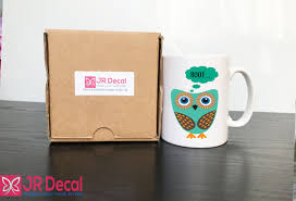 little cute hoot owl coffee mug morning tea office animal print