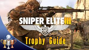 sniper elite 3 trophies u0026 collectible locations war diaries