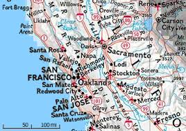 california map detailed california