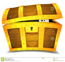 treasure chest funny clipart