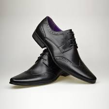 customized handmade black polish brogue derby leather men u0027s dress