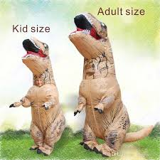 T Rex Costume Two Size Big Inflatable Dinosaur T Rex Costume For Kid