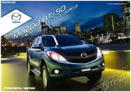 2012 mazda bt 50 full brochure and price list