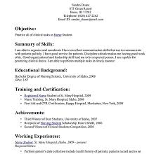 Sample Nursing Student Resume Clinical Experience by Bright Ideas Student Nurse Resume 12 Nursing Student Resume Must