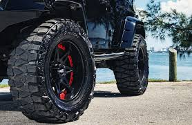 jeep wheels and tires customized jeep wrangler exclusive motoring miami fl