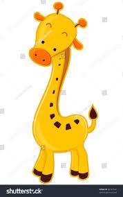 cute giraffe vector stock vector 56197522 shutterstock