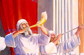 shofar blew the temple institute rosh hashana in the holy temple blowing the