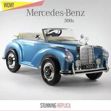 antique mercedes classic mercedes 300s kids ride on car 12v battery u0026 remote