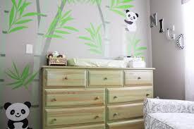 chambre bébé panda deco chambre bebe panda visuel 8