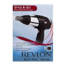 Revlon soft feel 1875w travel dryer rv499 beauty
