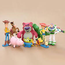toy story 3 buzz lighter woody jessie bullseye action figures
