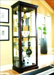 Kitchen Curio Cabinet Small Curio Cabinet Small Curio Cabinets With Glass Doors Small