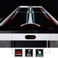 air powered hockey table espn 84 inch air powered hockey table md sports your best