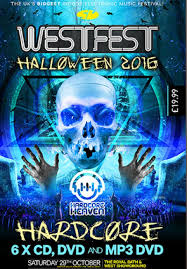 halloween music cd westfest 2016 cd and dvd pack