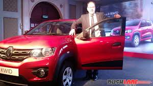 kwid renault 2015 kwid bookings cross 70 000 190th dealership opened