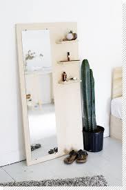 miroir de chambre sur pied nos diy déco préférés décoration chambre miroir sur pied le