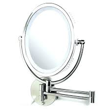 Magnifying Bathroom Mirror Magnified Wall Mirror Bathroom Magnifying Mirrors For