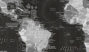Black And White World Map Uss Enterprise World Map Framed Pin Board Map Geojango Maps
