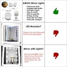 mirror vanity led light bulbs