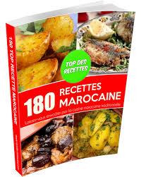 livre de cuisine marocaine livre 180 recettes marocaine