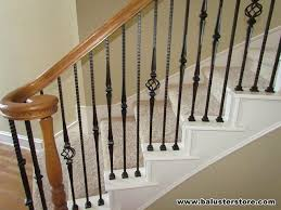 Wooden Banister Spindles High Quality Iron Balusters For Stair Railing U0026 Balconies Patios