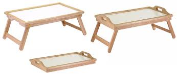 Bed Trays With Legs Coupons And Freebies Winsome Wood Breakfast Bed Tray With Handle
