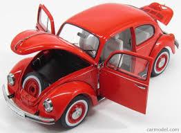 volkswagen beetle red schuco 00292 scale 1 18 volkswagen beetle 1600i last edition
