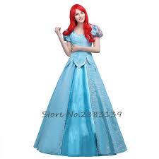 Ariel Mermaid Halloween Costume Adults Cheap Ariel Fancy Dress Adults Aliexpress