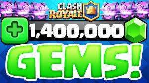 gems clash royale 1 million gems 300 super magical chest
