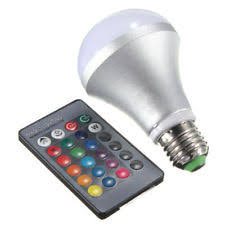 Changing Color Light Bulbs 5w Color Changing Led Bulb Ebay