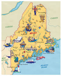 Maine County Map Map Hero Map Illustration U0026 Design