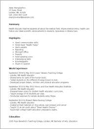 Host Resume Sample by Sample Teacher Special Education Teacher Education Resumes 12