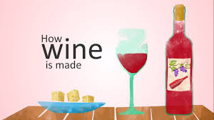 how is champagne made how wine is made animation youtube