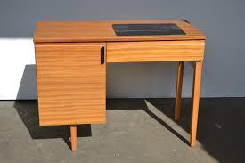 vintage retro alfa sewing machine in teak cabinet see