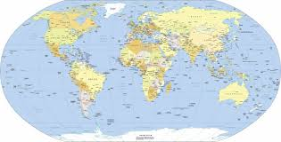 Seven Continents Map Usa World Continents More Detailed World Map Printable Labeled
