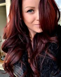 brown cherry hair color do you think i could pull of being a red head pics included in
