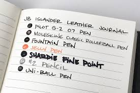 paper for fountain pen writing the