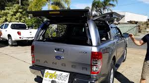 Ford Ranger Truck Canopy - trek4x4 information video workstyle canopy on px 2 ranger youtube