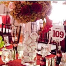 baseball wedding table decorations 66 best amy s baseball themed wedding images on pinterest themed