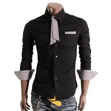 design mens dress shirts with short tie black shirt u0027s for mens