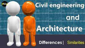 civil engineering vs architecture uses difference of civil