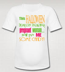 funny halloween pregnancy give me some candy maternity sarcastic