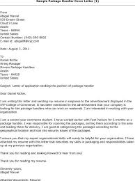 Packer Job Description Resume by Package Handler Job Description Resume Samplebusinessresume Com